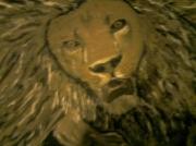tableau animaux animaux : Lion