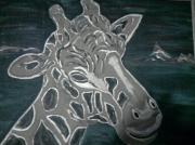 tableau animaux : Girafe