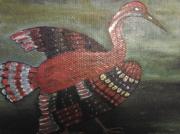 tableau animaux : oiseaux de sahrangeti