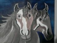 couple de chevaux