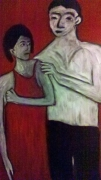 tableau personnages pina orphee galerie film cinema lambert wilson sabhan adam : PINA ORPHEE EURYDICE