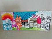 tableau autres fluo : Paris fluo