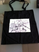 art textile mode villes paris dessin sac : sac paris