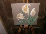 tableau : le bouquet de lys