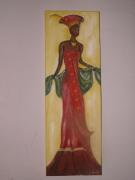 tableau : le femme massai