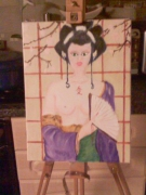 tableau : geisha