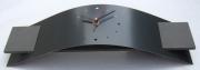 deco design autres horloge pendule design aluminium : Horloge Pendule Design NEPTUNE Gris Ardoise