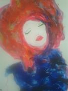 tableau personnages femme reve jeune funky : Dream