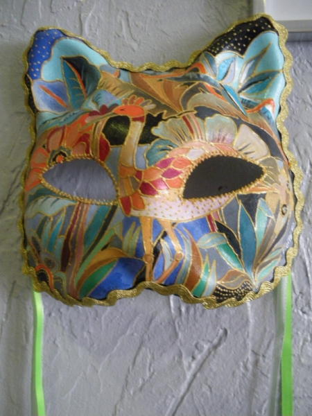 ARTISANAT D'ART  - masque