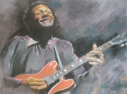 """dessin personnages : """"Chuck Berry"""""""