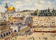 tableau architecture : Jérusalem : le Mur des Lamentations N°:01 DS 01