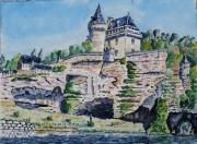 tableau paysages : Vallée de la Vézère N° : 08 SZ 13