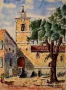 tableau villes : Fox Amphoux en Provence N° : 01 SZ 08.