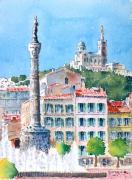 tableau : Place Castellane à Marseille