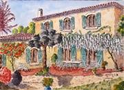 tableau architecture : Bastide en Provence N° 02 SZ 07