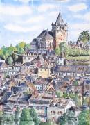 tableau paysages : Laguïole en France