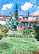 tableau : La Bastide