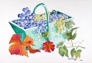 tableau : Le panier de raisin
