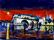tableau architecture : Avignon en Provence
