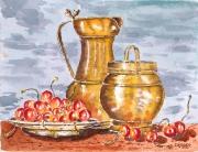 tableau : Les cerises