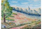 tableau paysages : Prairie fleurie 07 Tz 02
