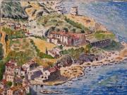 tableau paysages : pino en Haute Corse N° : 10 SZ 01