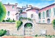 tableau architecture : Château des Forbins à La Verdière N°:07SZ04