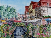 "tableau villes : "" Colmar "" N° 08 DS 01"