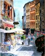 tableau villes : Quartier St Jean à Lyon