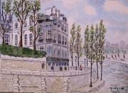 tableau paysages : Bords de Seine N° : 10 SZ 05