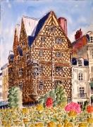 tableau architecture : La Maison d'Adam à Angers N°:04 DS 01