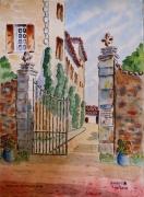 tableau architecture : Domaine à St Estève à Bru-Auriac 83 N°:03 SZ 06
