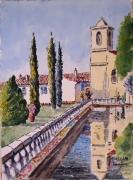 tableau architecture : Le couvent des Minimes à Mane en Provence N°:03 DS 04