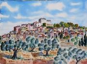 tableau paysages : La Verdière N°: 06 SZ 04
