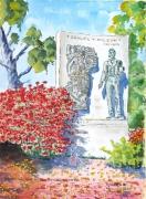 tableau personnages : Monument de l'Oncle Sam à Arlington aux USA