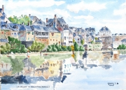 tableau paysages : les bords de la Creuse