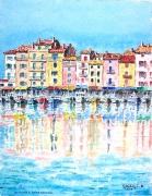 tableau : Reflets à St-Tropez