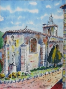 tableau architecture : Montmeyan en Provence
