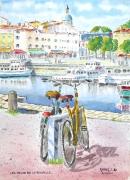 tableau marine bateau : Les vélos de La Rochelle 12 DZ 01