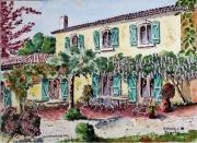 tableau architecture : Bastide en Provence N° : 07 QT 03