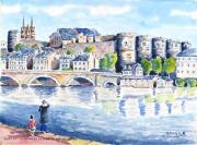 tableau paysages : Angers perle de l'Anjou