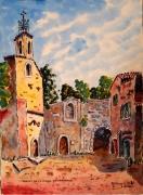 tableau architecture : Abbaye de La celle en Provence N°:05 SZ 03