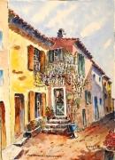 tableau villes : Glycine à Fox-Amphoux en Provence N° : 01SZ09