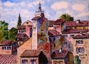 tableau architecture : Capanile provençal N°:05 SZ 04
