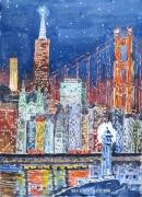 tableau villes : Souvenirs de San Francisco de l'automne 2011.