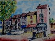 tableau : Gordes en Provence N° : 01 DH 01