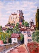 tableau paysages : Le rocher de Virolles en Provence N°:04 SZ 06