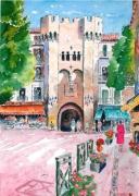 tableau villes : Porte à Manosque