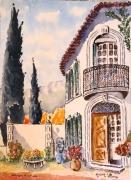 tableau architecture : Bastide à Cassis N° : 03 SZ 04