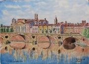 tableau villes : Toulouse le Pont Neuf N° : 10 QZ 01